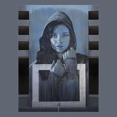 The Girl (gerla photo-works) Tags: faces fassaden reno mural outdoorart