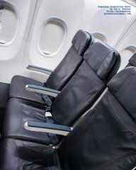 A Row of Coach Class Seats In An Alaska Airlines 737-900WL (AvgeekJoe) Tags: iflyalaska 737990 737990erwl alaskaair alaskaairlines boeing737 boeing737900 boeing737990 boeing737990erwl d5300 dslr jetliners n434as nikon nikond5300 other aircraft airplane aviation jetliner plane