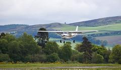 G-BHAI Cessna 152, Scone (wwshack) Tags: acsflighttraining ce152 cessna cessna152 egpt psl perth perthkinross perthairport perthshire scone sconeairport scotland gbhai
