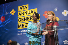 WATS - IATA Diversity and Inclusion Awards (IATA - International Air Transport Association) Tags: aviation airlines airtransport airtravel iata agm iataagm2019annualgeneralmeeting korea seoul internationalairtransportassociation travel nataliamroz
