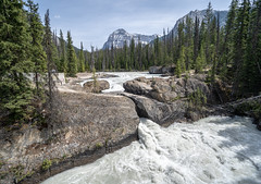 Water through Natural Bridge - near Field, BC (BlueVoter - thanks for 2.5M views) Tags: naturalbridge rapids waterfall cascade britishcolumbia yoho nationalpark