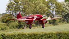 DH Comet (Bernie Condon) Tags: de havilland dh88 comet racer racing plane aircraft aviation vintage preserved classic shuttleworth oldwarden airshow display flying uk british collection airfield festivalofflight june june2019