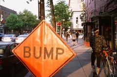 Bump (Mike J Maguire) Tags: bump fujiprovia 35mmfilm filmphotography washingtondc ustreet streetphotography