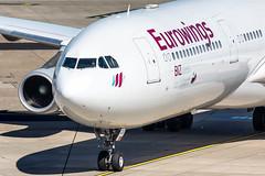 OO-SCX Eurowings Airbus A340-313X (buchroeder.paul) Tags: eddl dus dusseldorf international airport germany europe ground ooscx eurowings airbus a340313x