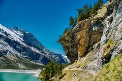 Oeschinensee, Berner Oberland, Schweiz