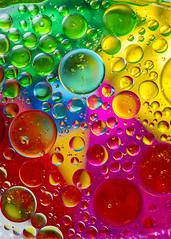 A million bubbles (alderson.yvonne) Tags: macromonday oilandwater bubbles rainbow colour macro yvonne yvonnealderson