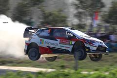 Ott Tänak, Toyota Yaris WRC (Vikuri) Tags: wrc rally portugal 2019 may june ralli racing rallying rallycar motorsport canon travelling toyota yaris yariswrc jump flying vieiradominho ott tänak