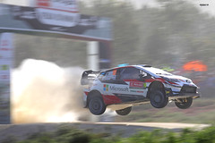 Jari-Matti Latvala, Toyota Yaris WRC (Vikuri) Tags: wrc rally portugal 2019 may june ralli racing rallying rallycar motorsport canon travelling toyota yaris yariswrc jump flying vieiradominho jarimatti latvala