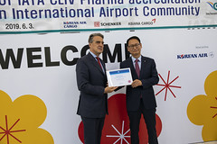 Incheon airport - CEIV Certificates presentation (IATA - International Air Transport Association) Tags: aviation airlines airtransport airtravel iata agm iataagm2019annualgeneralmeeting korea seoul internationalairtransportassociation travel nataliamroz