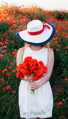"""""""Poppies"""" My production photoshoot (rebrik.art) Tags: маки flowers poppies lgbt"""