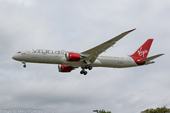 G-VSPY - 2015 build Boeing B787-9, on approach to Runway 27L at Heathrow (egcc) Tags: 369 37973 b787 b7879 b789 boeing boeing7879 dreamliner egll gvspy heathrow lhr lightroom london missmoneypenny plasticfantastic vir vs virgin virginatlantic