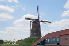 Molen De Prins van Oranje (1870) (♥ Annieta ) Tags: annieta mei 2019 sony6000 nederland netherlands aalten gelderland achterhoek allrightsreserved usingthispicturewithoutpermissionisillegal bredevoort molen mill moulin