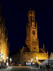 Bruges Belfry (kylewagaman) Tags: belfry belfort europe architecture buildings night bruges brugge brügge westflanders flemish westvlaanderen flandreoccidentale westflandern flanders vlaanderen flandre belgium belgië belgique belgien