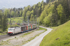 CH Crossrail 186 908-6 Goldau 30-04-2019 (peters452002) Tags: peters452002 eisenbahn etrain elok railways railway railroad railroads rail trains train trein treinen twop transportation traxx spoor spoorwegen switserland swiss ferrovia clickcamera cargo ch crossrail bahn lokomotive lokomotief locomotive jalalspagestransportationalbum zwitserland