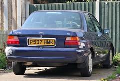 P537 HMK (Nivek.Old.Gold) Tags: 1996 ford escort masquerade 16v 4door 1597cc dagenhammotors