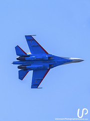 Fighter (Unknown-Photographer) Tags: stpetersburg saintpetersburg saint petersburg unknownphotographeroutlookcom sony cameraphotography sonya200 photo photography up russianknights sukhoi su 30 su30 aerobatic team flight fly warbirds plane jet fighter sky blue white red star пилотажная группа русские витязи истребитель clouds telephoto lens airforce su27 flanker twinengine