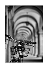 06 [titre Anonymous Visitor loves bicycles] (Armin Fuchs) Tags: arminfuchs lavillelaplusdangereuse anonymousvisitor thomaslistl wolfiwolf jazzinbaggies würzburg juliusspital arkaden bicycle light shadow