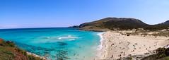 Strand von Cala Mesquida auf Mallorca, Spanien