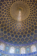 Voûte (hubertguyon) Tags: iran perse persia asie asia moyen proche orient middle east ispahan esfahan isfahan ville city mosquée mosque cheikh loftollah