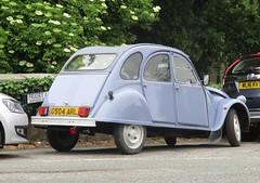 1989 Citroen 2CV Special (occama) Tags: g504arl 1989 citroen 2cv special old french car cornwall uk blue