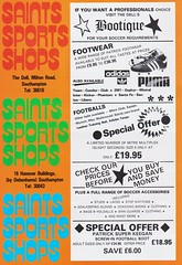Southampton vs Manchester United - 1983 - Page 6 (The Sky Strikers) Tags: southampton manchester united football league division one the dell saints canon official programme 40p