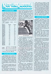 Southampton vs Manchester United - 1983 - Page 11 (The Sky Strikers) Tags: southampton manchester united football league division one the dell saints canon official programme 40p