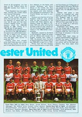 Southampton vs Manchester United - 1983 - Page 5 (The Sky Strikers) Tags: southampton manchester united football league division one the dell saints canon official programme 40p