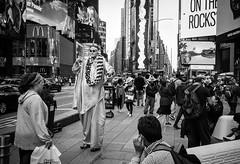 FILM - Liberty (fishyfish_arcade) Tags: 35mm analogphotography bw blackwhite blackandwhite canonsureshotz135 filmphotography filmisnotdead hp5 istillshootfilm monochrome newyork analogcamera compact film ilford mono streetphotography timessquare