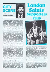 Southampton vs Manchester United - 1983 - Page 15 (The Sky Strikers) Tags: southampton manchester united football league division one the dell saints canon official programme 40p