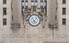 Chicago Board of Trade (20190526-DSC03745) (Michael.Lee.Pics.NYC) Tags: chicago cbot chicagoboardoftrade clock facade sculptures alvinmeyer lasallestreet architecture sony a7rm2 fe70300mmg