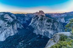 Half Dome at Sunset (David Hamments) Tags: california halfdome sunset glacierpoint yosemitenationalpark fantasticnature