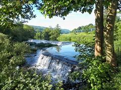 Warleigh Weir on the River Avon