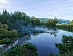 Warleigh Weir at dawn
