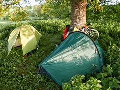 Wild camp in Shropshire