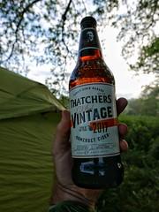 Somerset cider in Shropshire.