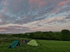 Wild camp in Rivington