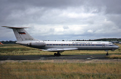 Tupolev TU-134A RA-65781 Aeroflot (EI-DTG) Tags: aeroflot tu134 tupolev134 shannonairport snn 13aug1999
