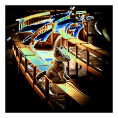 MY light universe (WolfiWolf-presents-WolfiWolf) Tags: wolfiwolf wolfi wolf wolfismus eneamaemü jazzinbaggies licht light lupus karma dirigent derprächtigste aikidouniversum blue butlers blu conductor derbeste farky fresko yellow bench glück huldvoll ich joy kunst lichtschatten multiversen marieschen meinemajestät naturwunder öhrchen portrait quantensuppe quantenuniversum quantensymphonie reise stüben stube schweinebauch treue universum universe versenkung werwolfi xxx lyric zen auserirdisch center