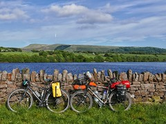 Bikes at Rivington Reservoir