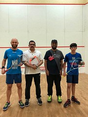 Squash tournament in Saudi.
