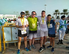 Post 5km race in Khobar
