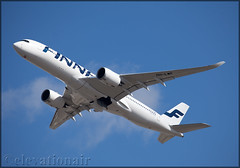 OH-LWF Airbus A350-941 Finnair (elevationair ✈) Tags: lhr egll london heathrow heathrowairport england uk unitedkingdom avgeek aviation airplane plane aircraft departure sun sunny sunshine airbus a350 a359 airbusa350941 finnair ohlwf