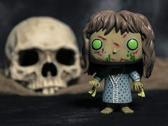 Possessed (DayBreak.Images) Tags: tabletop toys funkopop figure resin skull canoneosm mirrorless ringlight lightroom home