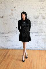 Velvet Dress 1 (Hannah McKnight) Tags: