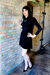 Velvet Dress 3 (Hannah McKnight) Tags: