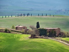 Val d'Orcia (Jolivillage) Tags: jolivillage valdorcia toscane tuscany toscana pienza landscape paysage paesaggio italie italia italy europe europa picturesque geotagged vert green verde