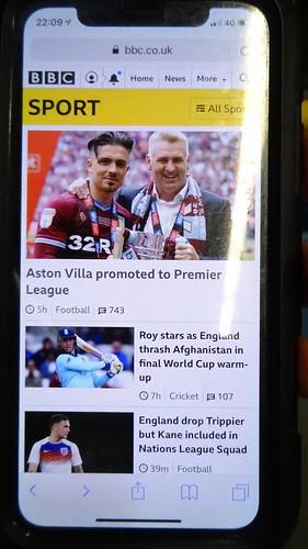 Aston Villa promoted to Premier League