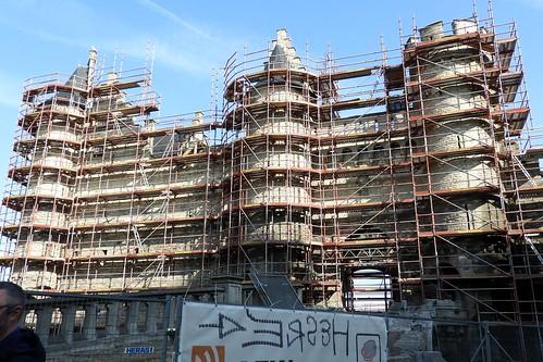 Restoration on the Waterfront in Antwerp, Belgium