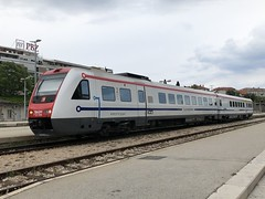 Baureihe 7123 in Split Kroatien (hrs51) Tags: hž 7123 neigezug dbbaureihe612 split stoll hans rudolf kroatien 612