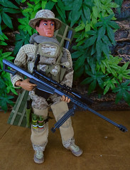 Front View (Blondeactionman) Tags: actionman army bamhq diorama doll photography playscale onesixth toys